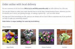 Patricia's Florist - Online Shop